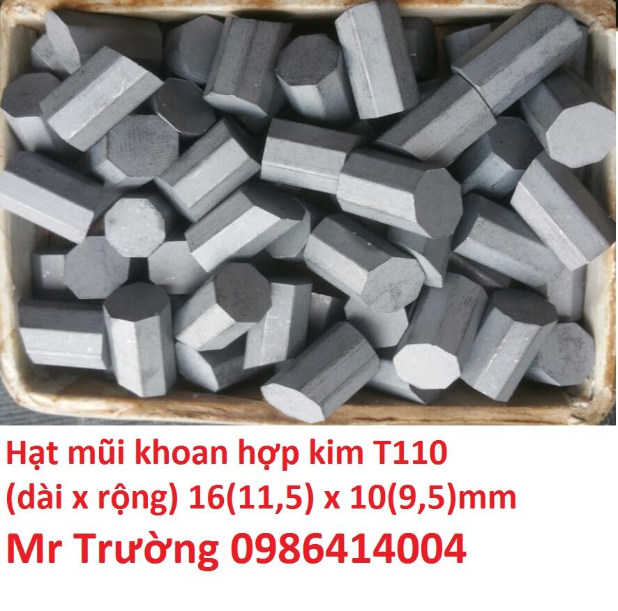 Hạt hợp kim khoan giếng T110